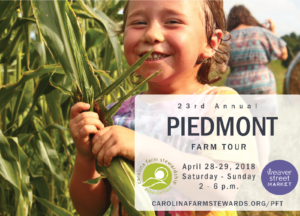 Cover photo for 23rd Annual Piedmont Farm Tour