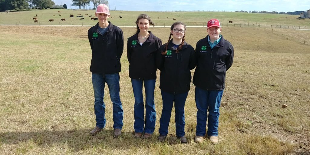 Youth Livestock Junior Team 4-H Member