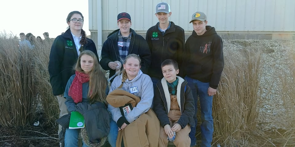 Livestock Judging Contest Group Photo
