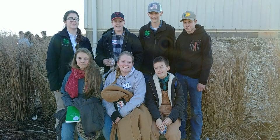Livestock Judging Contest Group Photo