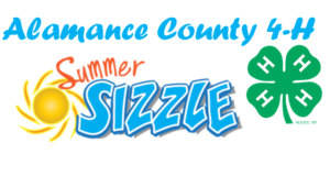 Cover photo for Alamance County 4-H Summer Sizzle 2019