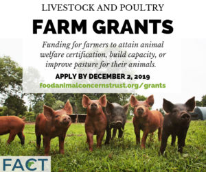 Cover photo for FACT's 2019 Fund-a-Farmer Grants