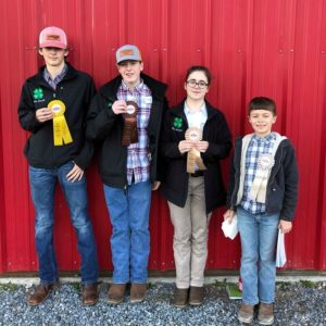 Cover photo for Alamance County 4-H Places in Recent Livestock Judging Contest