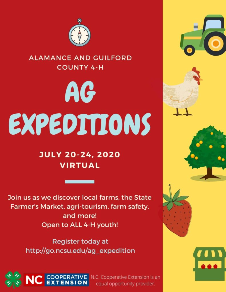 Ag Expeditions program flyer