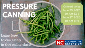 image for pressure canning class