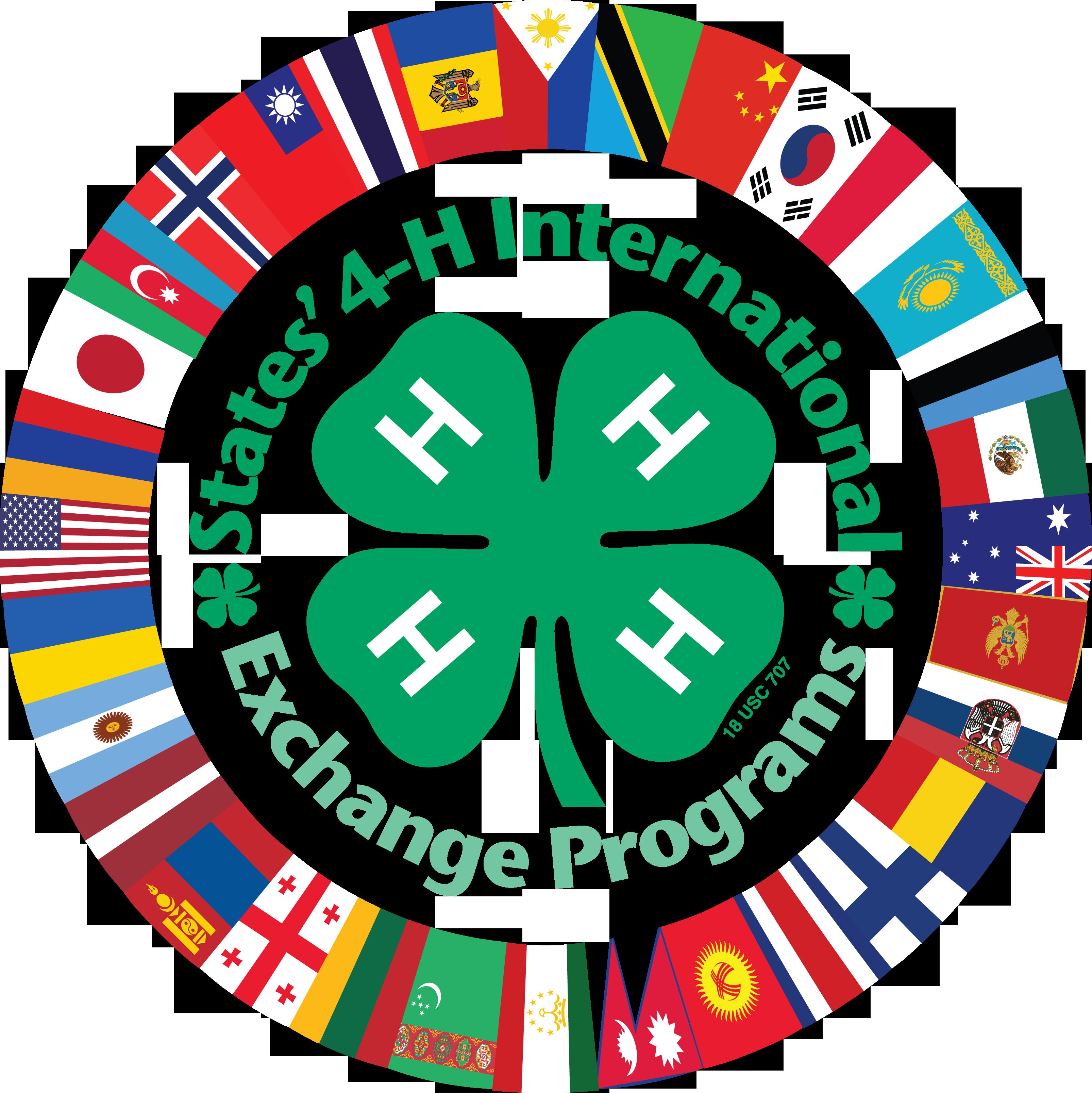 Logo States 4-H International Exchange Program