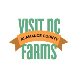 Visit NC Farms alamance county banner
