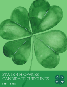 Clover, Cover of application guidelines