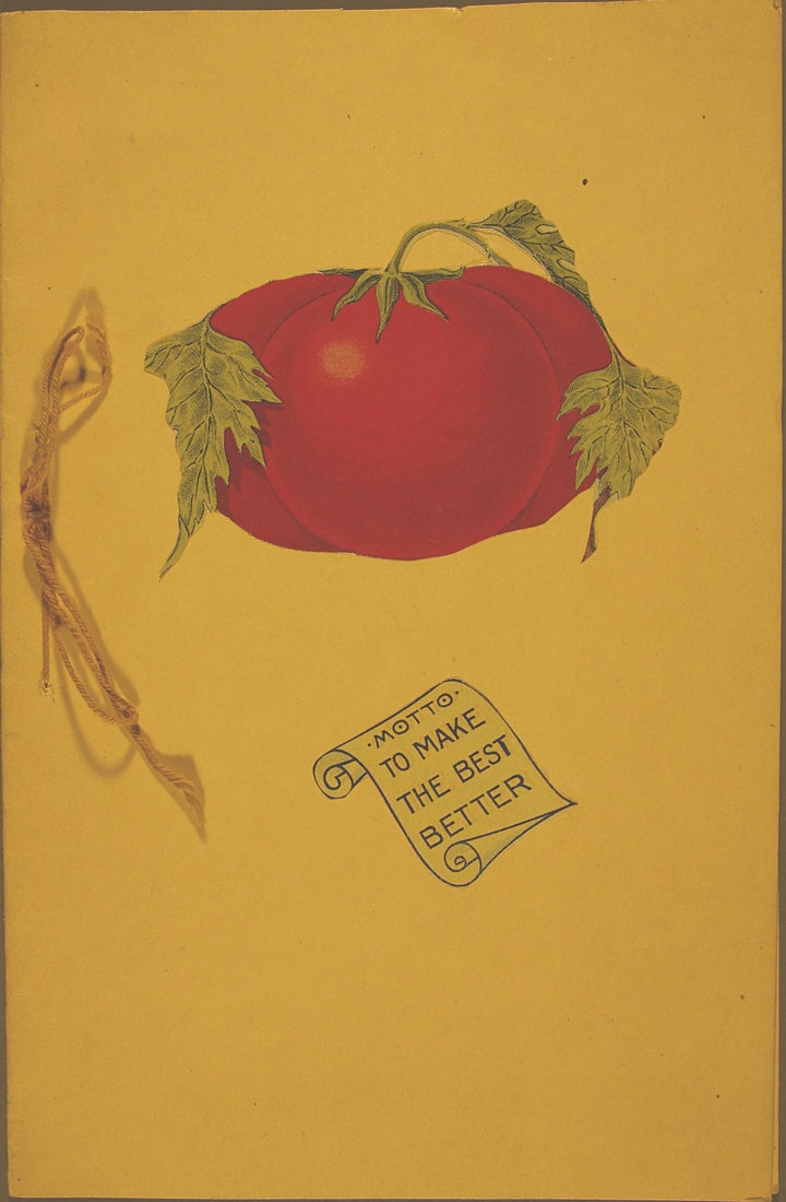 Red tomato and 4-H logo
