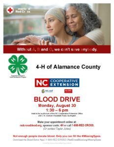 Blood drive time and date